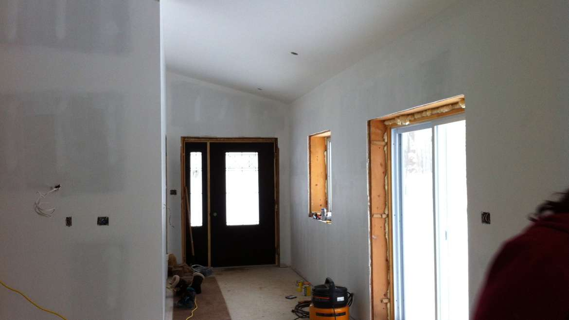 New Build – Drywall